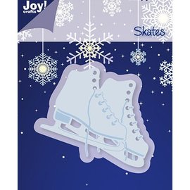 Joy!Crafts / Jeanine´s Art, Hobby Solutions Dies /  Gaufrage et coupe mat, patins à glace