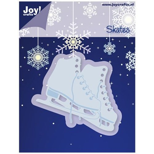 Joy!Crafts / Jeanine´s Art, Hobby Solutions Dies /  Gaufrage et coupe mat, patins à glace