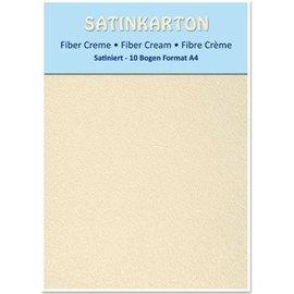 Karten und Scrapbooking Papier, Papier blöcke 10 ark karton A4, Satin begge sider præget