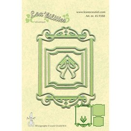 Leane Creatief - Lea'bilities und By Lene Stamping and embossing stencils, stencil Multi, Frames rectangle