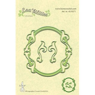 Leane Creatief - Lea'bilities und By Lene Stamping and embossing stencils, stencil Multi, Frames Oval