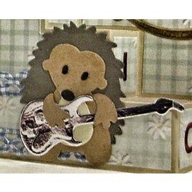 Yvonne Creations Yvonne Creations, skære og emboss stencil, Guitar