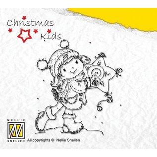 Nellie Snellen Nellie Snellen Clear stamps, Scène Kerstmis
