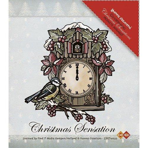 Yvonne Creations Transparent Stempel: Weihnachten