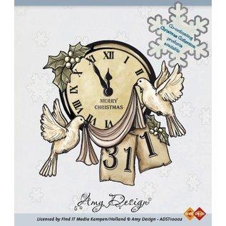 AMY DESIGN AMY DESIGN, francobollo trasparente, motivo natalizio