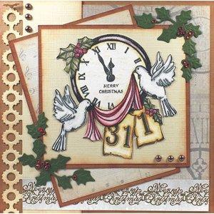 AMY DESIGN AMY DESIGN, projet du Nouvel An: timbre transparent