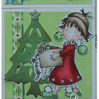 Marianne Design Marianne Design Clear stamps, Scène Kerstmis