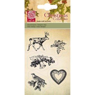 Cart-Us Kurv-Us, Clear stamps, julekollektion