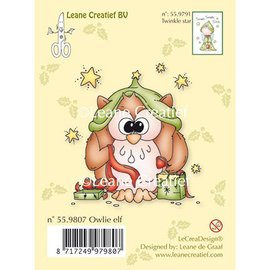 Leane Creatief - Lea'bilities und By Lene Clear stamps owl