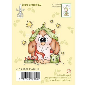 Leane Creatief - Lea'bilities und By Lene Transparent Stempel Eule