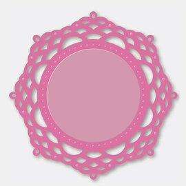 Stempel / Stamp: Transparent Couture creaciones - El ornamental de encaje - Espejo Mirrory