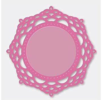 Stempel / Stamp: Transparent Couture creazioni - ornamentali Lace Il - Specchio Mirrory