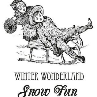 Marianne Design Timbro di gomma Wishes caldo inverno