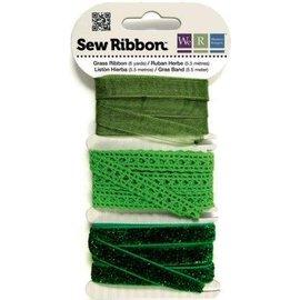 DEKOBAND / RIBBONS / RUBANS ... Ribbon Assortment greens