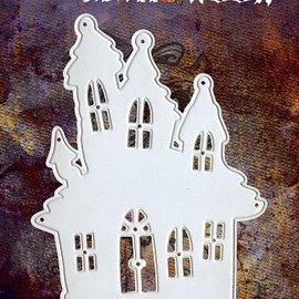 Yvonne Creations Yvonne Creations, Stanz- und Prägeschablone,  Halloween  Haus