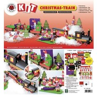 Complete kit for a train with extra Christmas decorations!