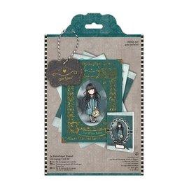 Gorjuss / Santoro Craft Kit: decoupage card kit, gewoon Gorjuss