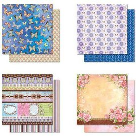 Designer Papier Scrapbooking: 30,5 x 30,5 cm Papier Bloque Diseñador, Premium Glitter Álbum de recortes de papel, 30,5 x 30,5 cm