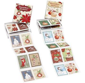 Sticker Pretty jagged sticker, size 25x33 mm, 36 order, christmas motive