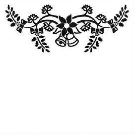 embossing Präge Folder Goffratura 130x130mm Folder - Campane di Natale
