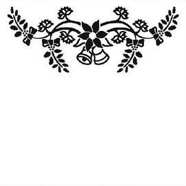 embossing Präge Folder Embossing Folder 130x130mm - Christmas bells