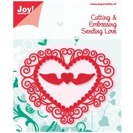 Joy!Crafts / Jeanine´s Art, Hobby Solutions Dies /  Stamping and Embossing Stencil Heart