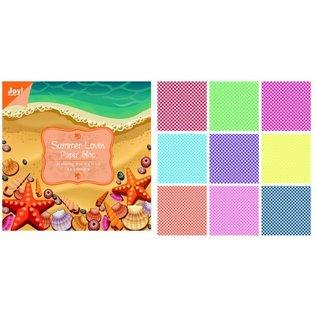 Karten und Scrapbooking Papier, Papier blöcke Designersblock, 15 x 15 cm, Summer Lovin
