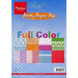 Marianne Design Piuttosto Bloc Carta, A5, a colori