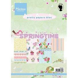 Bücher, Zeitschriften und CD / Magazines Pretty Papers - A5 - Spring tijd