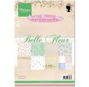 Marianne Design Pretty Papers, A5 , Belle Fleur
