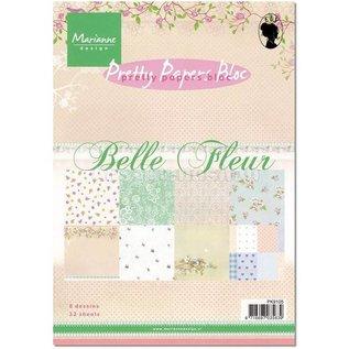 Marianne Design Papers Piuttosto, A5, Belle Fleur