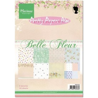 Marianne Design Pretty Papers, A5, Belle Fleur