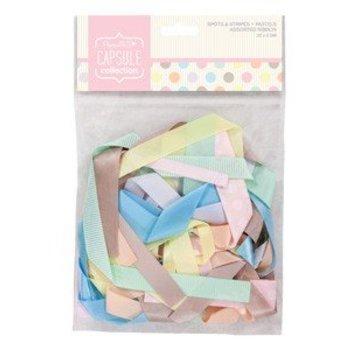DEKOBAND / RIBBONS / RUBANS ... forskellige dekorative bånd pastelfarver, 20