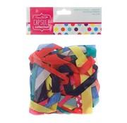 DEKOBAND / RIBBONS / RUBANS ... door verschillende decoratieve linten warme kleuren, 20 stuks