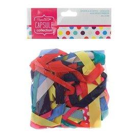 DEKOBAND / RIBBONS / RUBANS ... por diversas cintas decorativas de colores cálidos, 20 piezas