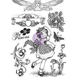 Prima Marketing und Petaloo Timbre motif en caoutchouc, Princesse