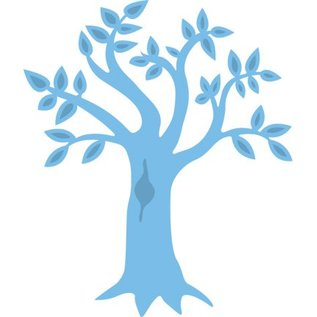 Marianne Design Stamping and embossing stencil, tree