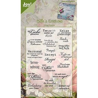 Joy!Crafts / Jeanine´s Art, Hobby Solutions Dies /  Joy Craft Clear stamps