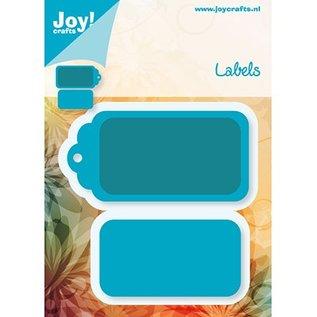 Joy!Crafts / Jeanine´s Art, Hobby Solutions Dies /  Stempelen en embossing folder, Etiketten