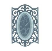 Sizzix Framelits Set with 3 Patterns, Oval w / Ironwork Edges