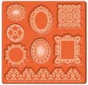 ModPodge Ornamenti Mold Mod Podge Mod, 95 x 95 mm, 8 disegni