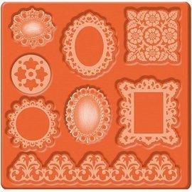 ModPodge Mod Podge Mod Ornements de moule, 95 x 95 mm, 8 dessins