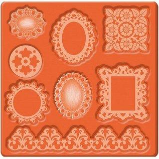 ModPodge Mod Podge Mod Mold ornamenter, 95 x 95 mm, 8 design