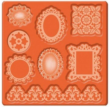 ModPodge Mod Podge Mod Mold Ornamenter, 95 x 95 mm, 8 designs