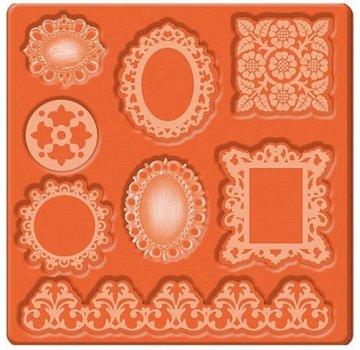 ModPodge Mod Podge Mod Mold Ornaments, 95 x 95 mm, 8 designs