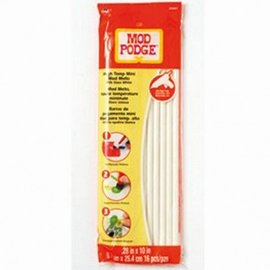 ModPodge Mod Podge, Melts, ø 70 x 254 mm, 16 Stk., weiß