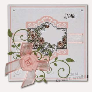 CREATIVE EXPRESSIONS und COUTURE CREATIONS Creative Expressions, gedetailleerde cutting en embossing stencils
