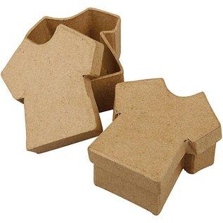 Objekten zum Dekorieren / objects for decorating 1 kasse, T-shirt, størrelse 8x7 cm