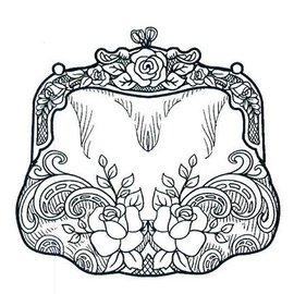 CREATIVE EXPRESSIONS und COUTURE CREATIONS Rubber stamp, Creative Expressions, pocket