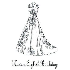 CREATIVE EXPRESSIONS und COUTURE CREATIONS Rubber stamp, Creative Expressions, single - Viennese Set